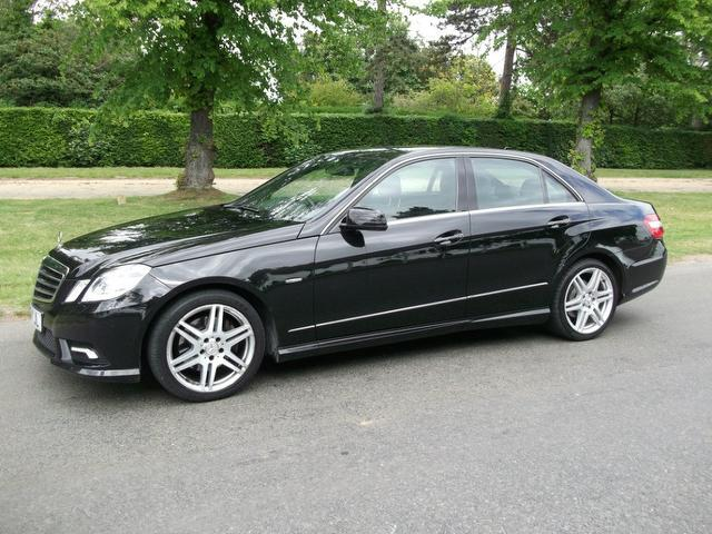 Used Mercedes Benz Class E350 Cgi Blueefficiency Saloon Black 2009 Petrol for Sale in UK