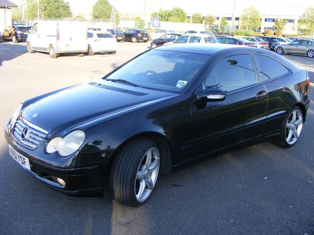 used 2001 mercedes benz coupe black edition class c180 3dr Mercedes C180 2014 Mercedes-Benz Models