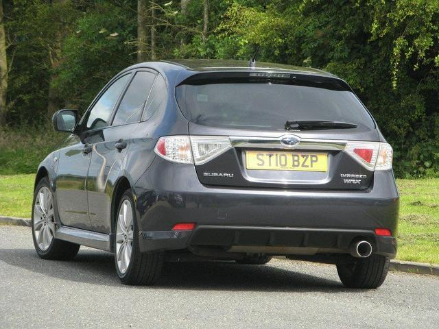 used subaru impreza 2010 petrol 2 5 wrx 5dr hatchback grey manual for sale in turrif uk autopazar. Black Bedroom Furniture Sets. Home Design Ideas