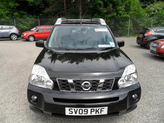 used nissan x trail 2009 diesel 2 0 dci sport 5dr 4x4 black edition for sale in inveralmond. Black Bedroom Furniture Sets. Home Design Ideas