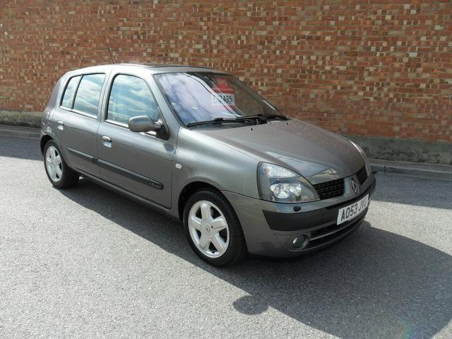 Used Renault Clio 2003 Grey Hatchback Petrol Manual for Sale