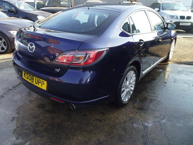 used mazda mazda6 2008 diesel ts2 4dr saloon blue. Black Bedroom Furniture Sets. Home Design Ideas