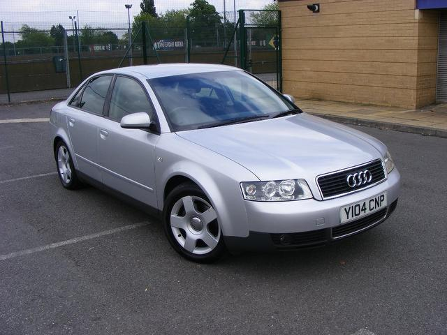 Used Audi A4 2001 Silver Saloon Petrol Automatic for Sale