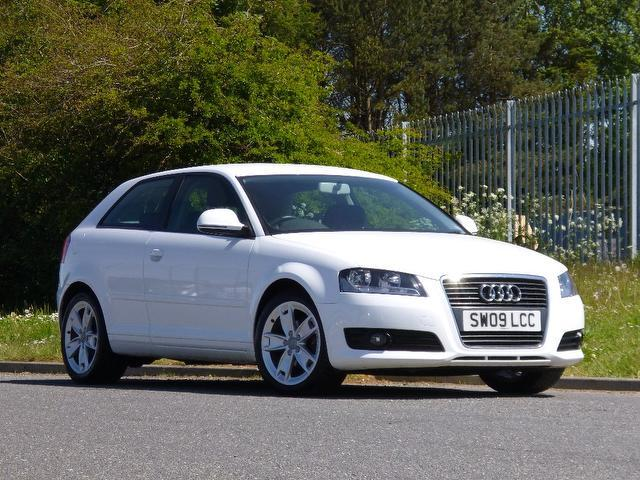 used audi a3 2009 diesel 1 9 tdie sport 3dr hatchback white edition for sale in turrif uk. Black Bedroom Furniture Sets. Home Design Ideas