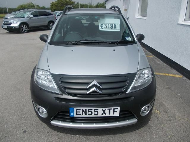 used citroen c3 2006 silver colour petrol 16v xtr 5 door hatchback for sale in wirral uk. Black Bedroom Furniture Sets. Home Design Ideas