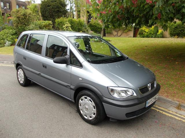 Used Cars For Sale Under 3000 >> Used Vauxhall Zafira for Sale under £3000 - Autopazar