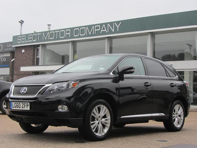 used lexus rx 2010 hybrid 450h 3 5 se i 5dr 4x4 black with car immobiliser for sale autopazar. Black Bedroom Furniture Sets. Home Design Ideas