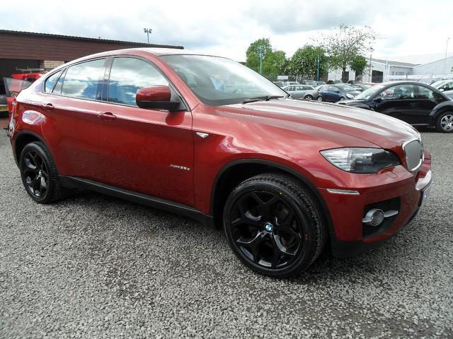 used red bmw x6 2010 diesel xdrive30d 5dr step auto 4x4. Black Bedroom Furniture Sets. Home Design Ideas