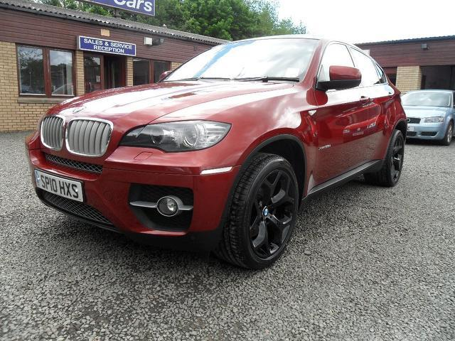 Used Bmw X6 Xdrive30d 5 Door Step Auto 4x4 Red 2010 Diesel for Sale in UK