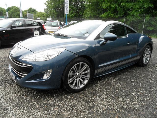 used peugeot rcz 2010 diesel 2 0 hdi sport 2dr coupe blue. Black Bedroom Furniture Sets. Home Design Ideas