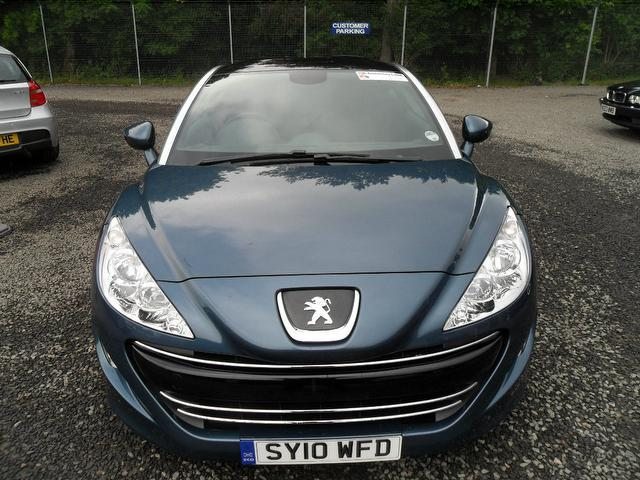 used peugeot rcz 2010 diesel 2 0 hdi sport 2dr coupe blue edition for sale in inveralmond place. Black Bedroom Furniture Sets. Home Design Ideas