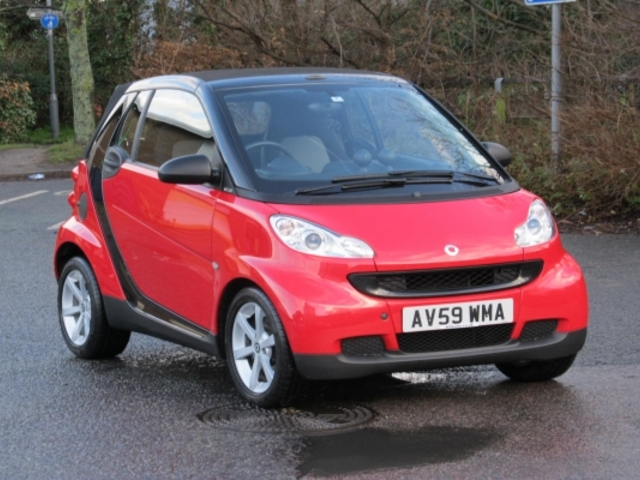 used smart fortwo 2010 automatic unleaded cabrio red for sale uk autopazar. Black Bedroom Furniture Sets. Home Design Ideas