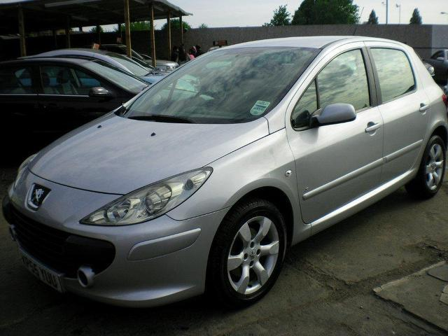 used peugeot 307 2005 diesel 1 6 hdi 110 s hatchback silver manual for sale in wembley uk. Black Bedroom Furniture Sets. Home Design Ideas