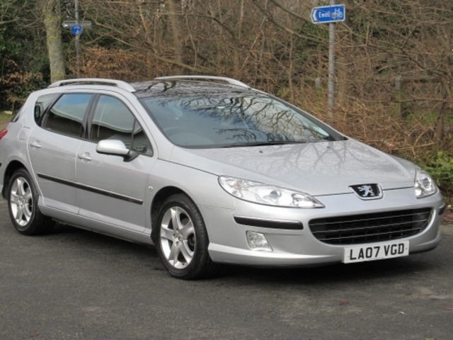 Used Peugeot 407 2007 Silver  Diesel Automatic for Sale