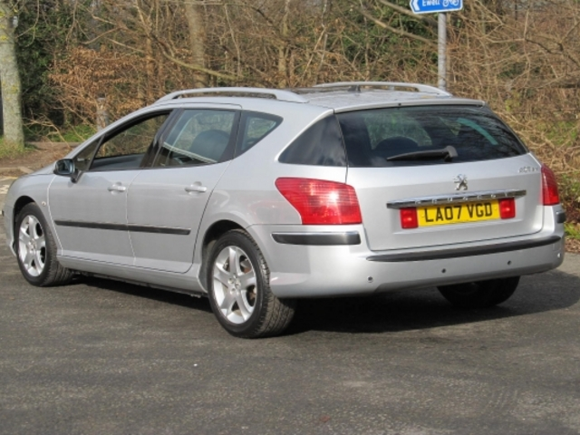 Used Peugeot 407 Sw  Silver 2007 Diesel for Sale in UK