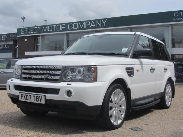 used 2007 land rover range 4x4 white edition sport 3 6 diesel for sale in sevenoaks uk autopazar. Black Bedroom Furniture Sets. Home Design Ideas