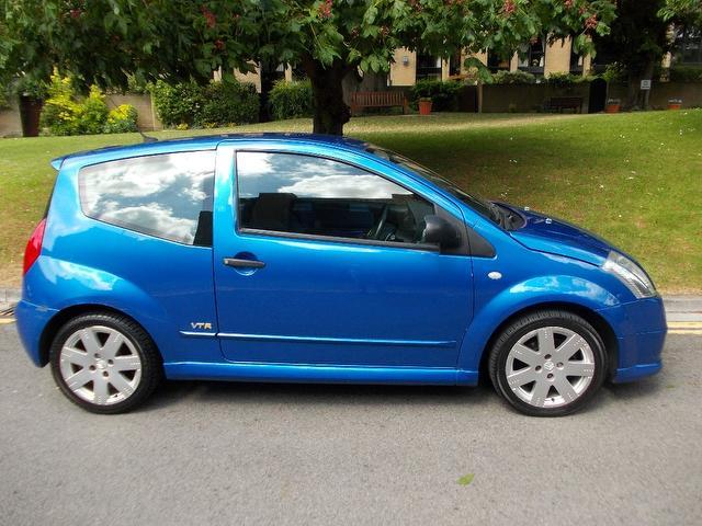 used citroen c2 car 2003 blue petrol 16v vtr 3 door hatchback for sale in keynsham uk. Black Bedroom Furniture Sets. Home Design Ideas
