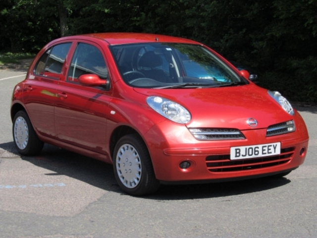 used nissan micra 2006 manual petrol red for sale uk autopazar. Black Bedroom Furniture Sets. Home Design Ideas