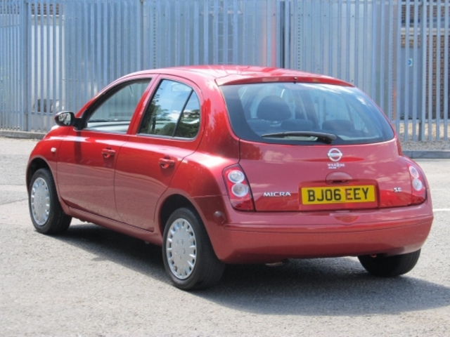 Used Nissan Micra  Red 2006 Petrol for Sale in UK