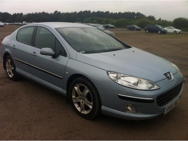 Used Peugeot 407 2006 Silver Saloon Diesel Manual for Sale