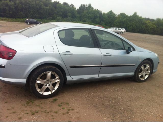 Used Peugeot 407 2.0 Hdi 136 X-line Saloon Silver 2006 Diesel for Sale in UK