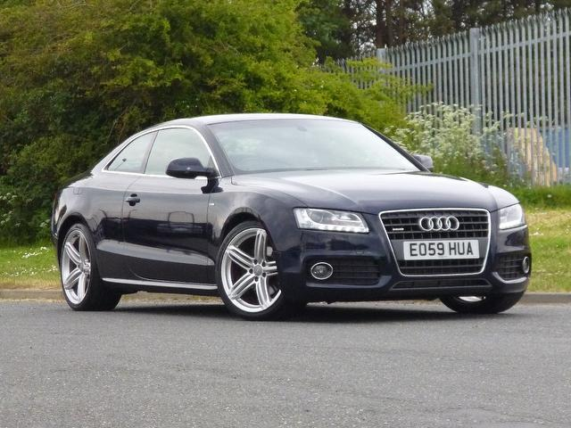 used audi a5 2009 diesel 2 0 tdi quattro s coupe blue edition for sale in turrif uk autopazar. Black Bedroom Furniture Sets. Home Design Ideas