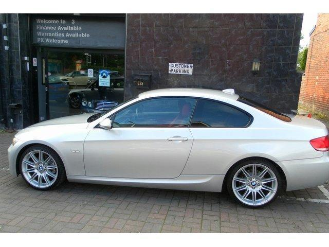 used bmw 3 series 2009 diesel 320d m sport coupe silver manual for sale in stockport uk autopazar. Black Bedroom Furniture Sets. Home Design Ideas