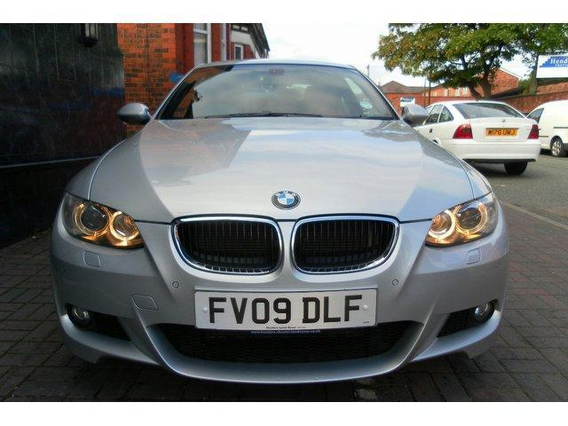 Used bmw 3 series 2009 diesel 320d m sport coupe silver - Bmw 3 series m sport coupe ...