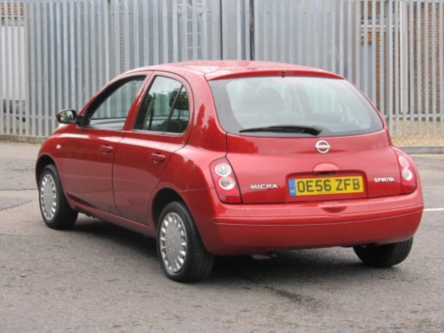 Used Nissan Micra  Red 2007 Petrol for Sale in UK