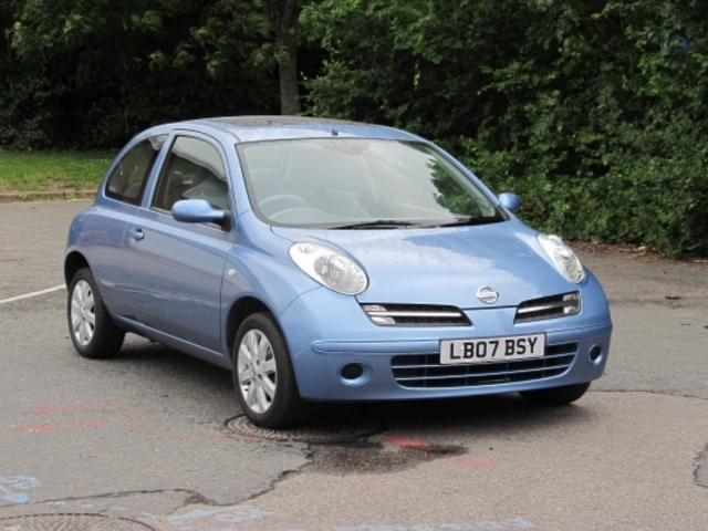Used Nissan Micra 2007 Blue  Petrol Manual for Sale