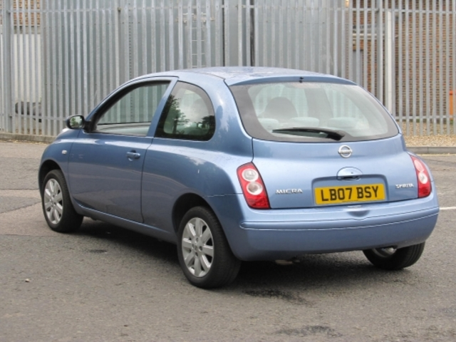 used nissan micra 2007 petrol blue edition for sale in epsom uk autopazar. Black Bedroom Furniture Sets. Home Design Ideas