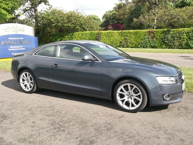 Used Audi A5 2007 Grey Paint Diesel 30 Tdi Quattro Sport Coupe