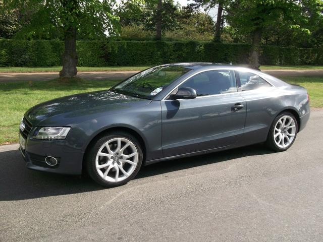 used audi a5 2007 grey paint diesel 3 0 tdi quattro sport coupe for sale in newmarket uk autopazar. Black Bedroom Furniture Sets. Home Design Ideas