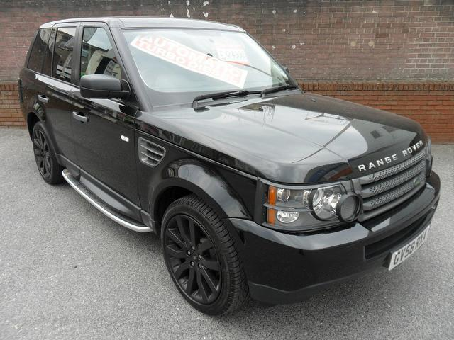 used black land rover range 2009 diesel sport 2 7 4x4 excellent condition for sale autopazar. Black Bedroom Furniture Sets. Home Design Ideas