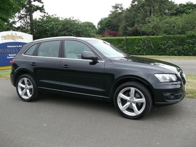 used black audi q5 2008 diesel 3 0 tdi quattro se 4x4 excellent condition for sale autopazar. Black Bedroom Furniture Sets. Home Design Ideas