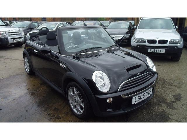 used mini cooper 2005 petrol s 1 6 convertible black edition for sale in wembley uk   autopazar