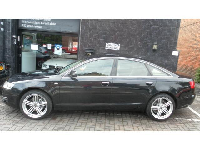 used audi a6 2006 black colour diesel 3 0 tdi quattro se. Black Bedroom Furniture Sets. Home Design Ideas