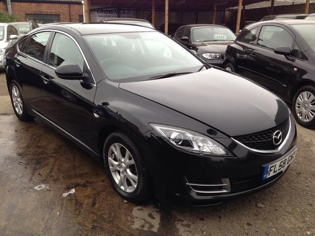 used mazda mazda6 2008 model ts 5dr 1 diesel hatchback black for sale in wembley uk autopazar. Black Bedroom Furniture Sets. Home Design Ideas
