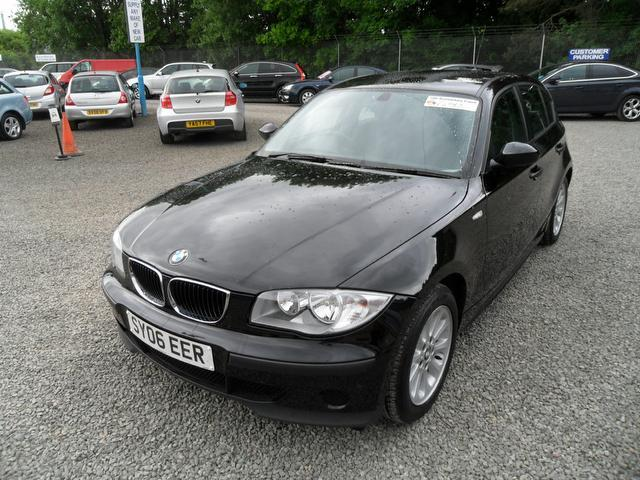 used bmw 1 series 2006 diesel 118d es 5dr hatchback black edition for sale in inveralmond place. Black Bedroom Furniture Sets. Home Design Ideas