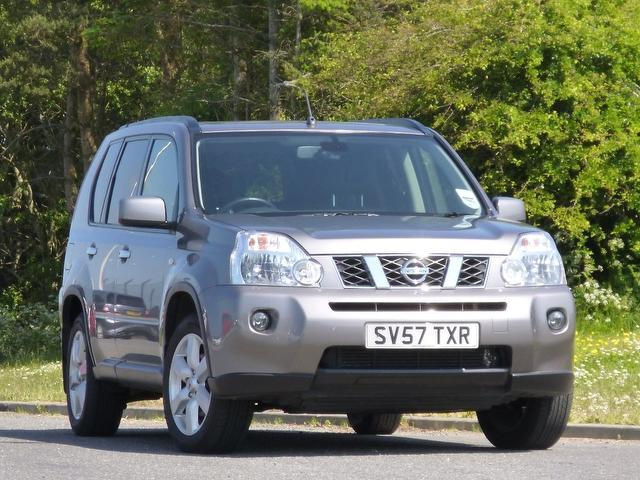 used nissan x trail 2007 model 2 0 dci aventura 5dr diesel 4x4 grey for sale in turrif uk. Black Bedroom Furniture Sets. Home Design Ideas