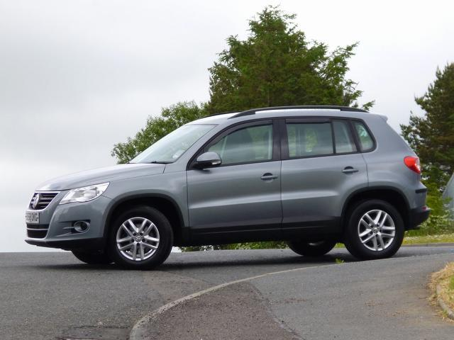 used volkswagen tiguan 2009 diesel 2 0 tdi s 5dr 4x4 grey with for sale autopazar. Black Bedroom Furniture Sets. Home Design Ideas