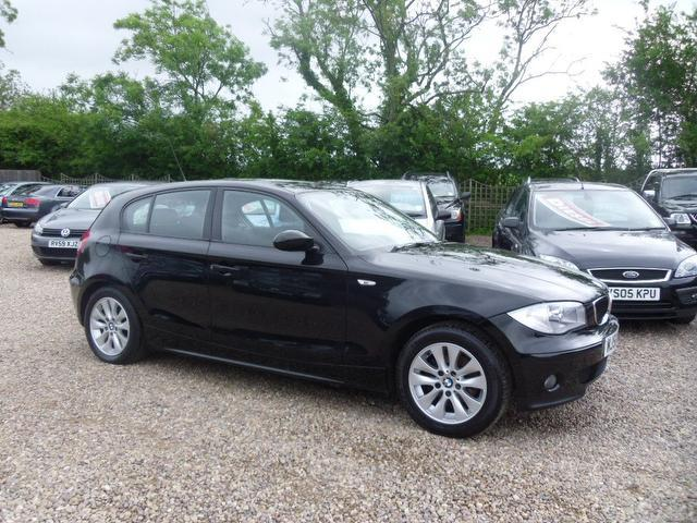 used 2006 bmw 1 series hatchback black edition 116i se 5dr. Black Bedroom Furniture Sets. Home Design Ideas