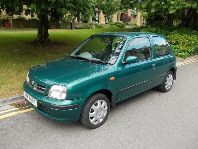Used Nissan Micra 1.0 Gx 3 Door  Hatchback Green 2000 Petrol for Sale in UK