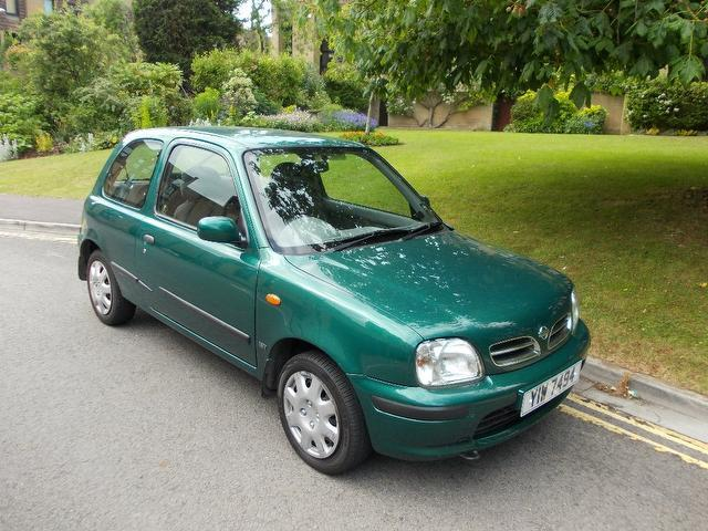 Used Nissan Micra 2000 Green Hatchback Petrol Manual for Sale