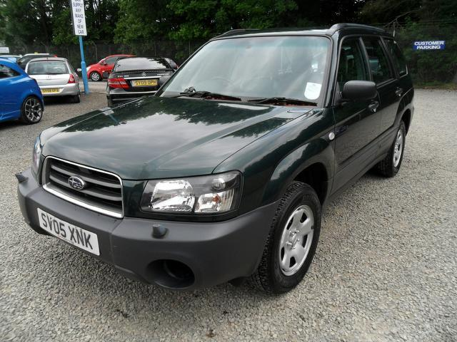 used grey subaru forester 2005 petrol 2 0 x 5dr lovely. Black Bedroom Furniture Sets. Home Design Ideas