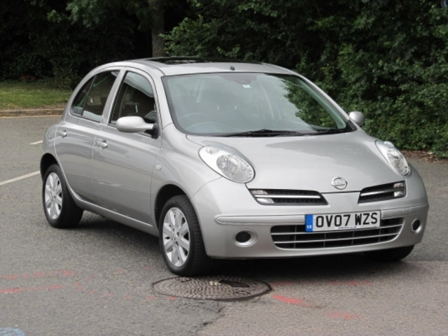 used nissan micra 2007 automatic petrol silver for sale uk autopazar. Black Bedroom Furniture Sets. Home Design Ideas