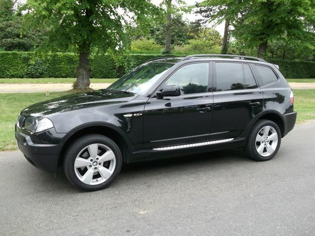 used bmw x3 2006 black paint diesel m sport 5dr 4x4 for sale in newmarket uk autopazar. Black Bedroom Furniture Sets. Home Design Ideas