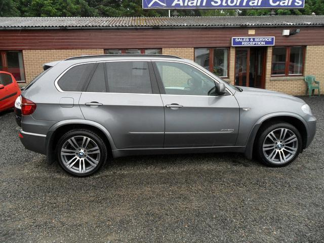 used grey bmw x5 2010 diesel xdrive30d m sport 5dr 4x4 in. Black Bedroom Furniture Sets. Home Design Ideas