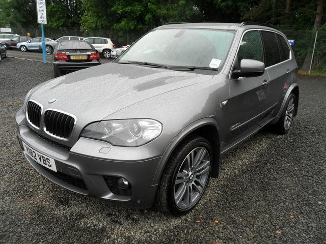 used grey bmw x5 2010 diesel xdrive30d m sport 5dr 4x4 in great condition for sale autopazar. Black Bedroom Furniture Sets. Home Design Ideas