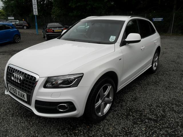 used audi q5 car 2011 white diesel 2 0 tdi quattro s 4x4 for sale in inveralmond place uk. Black Bedroom Furniture Sets. Home Design Ideas